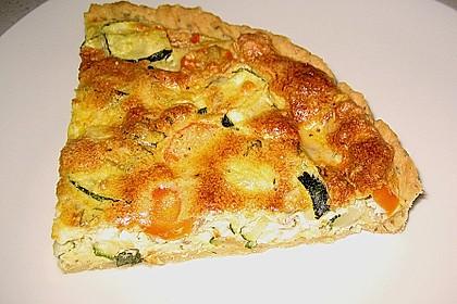 Schafskäse - Zucchini - Quiche 29