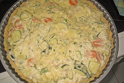 Schafskäse - Zucchini - Quiche 107