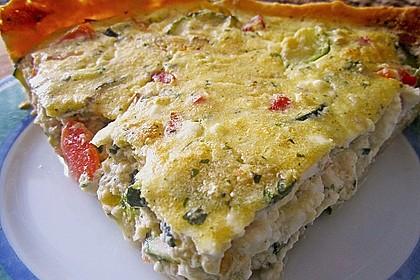 Schafskäse - Zucchini - Quiche 105