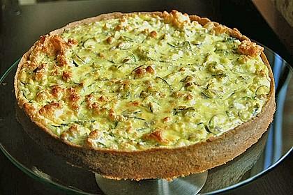 Schafskäse - Zucchini - Quiche 4