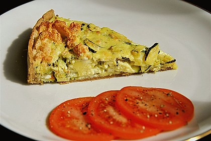Schafskäse - Zucchini - Quiche 5