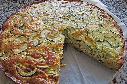 Schafskäse - Zucchini - Quiche 6
