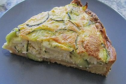 Schafskäse - Zucchini - Quiche 22