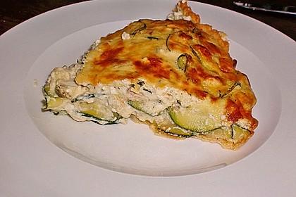 Schafskäse - Zucchini - Quiche 69