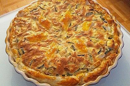 Schafskäse - Zucchini - Quiche 1