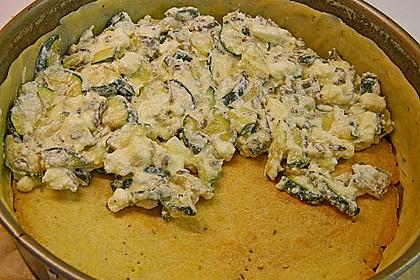 Schafskäse - Zucchini - Quiche 132