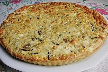 Schafskäse - Zucchini - Quiche 16