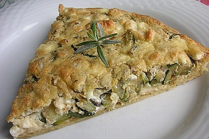 Schafskäse - Zucchini - Quiche 43