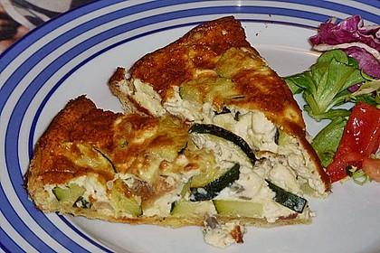 Schafskäse - Zucchini - Quiche 62