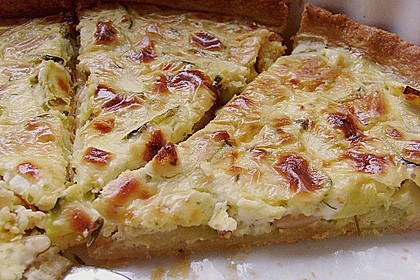 Schafskäse - Zucchini - Quiche 14