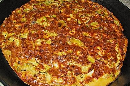 Schafskäse - Zucchini - Quiche 45