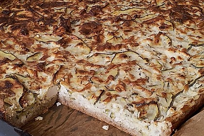 Schafskäse - Zucchini - Quiche 121