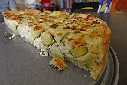 Schafskäse - Zucchini - Quiche 60