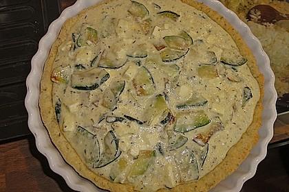 Schafskäse - Zucchini - Quiche 117