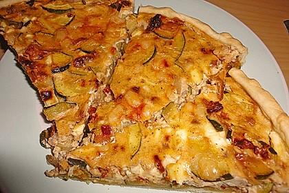 Schafskäse - Zucchini - Quiche 39