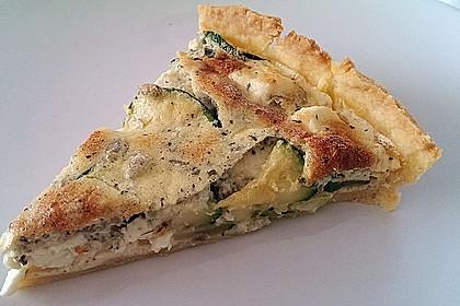Schafskäse - Zucchini - Quiche 34