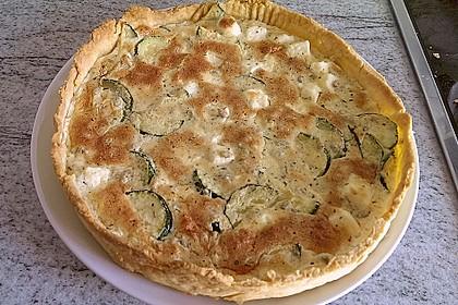 Schafskäse - Zucchini - Quiche 35