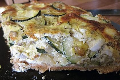 Schafskäse - Zucchini - Quiche 54