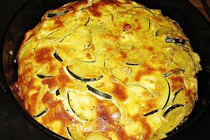 Schafskäse - Zucchini - Quiche 46