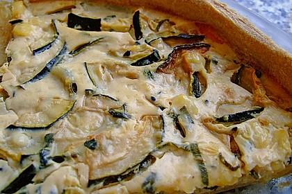 Schafskäse - Zucchini - Quiche 56