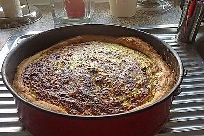 Schafskäse - Zucchini - Quiche 134