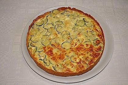 Schafskäse - Zucchini - Quiche 18