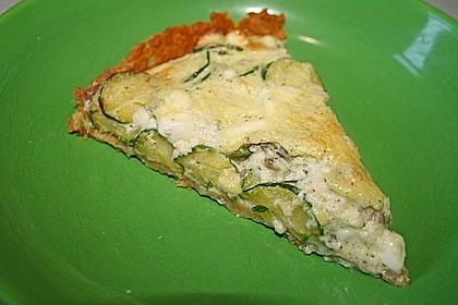 Schafskäse - Zucchini - Quiche 104