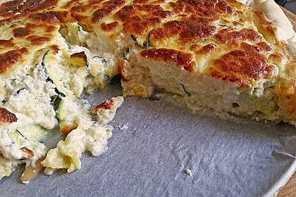 Schafskäse - Zucchini - Quiche 37