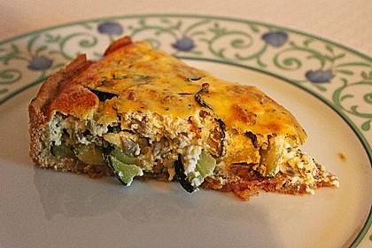 Schafskäse - Zucchini - Quiche 19
