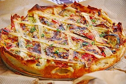 Schafskäse - Zucchini - Quiche 0