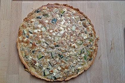 Schafskäse - Zucchini - Quiche 83