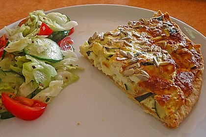 Schafskäse - Zucchini - Quiche 9