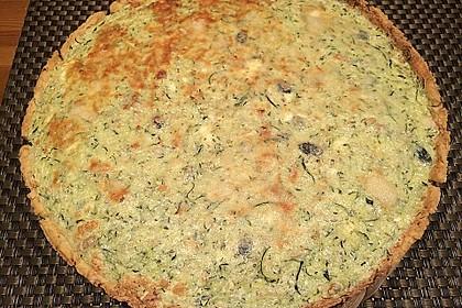 Schafskäse - Zucchini - Quiche 49