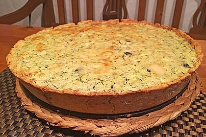 Schafskäse - Zucchini - Quiche 26