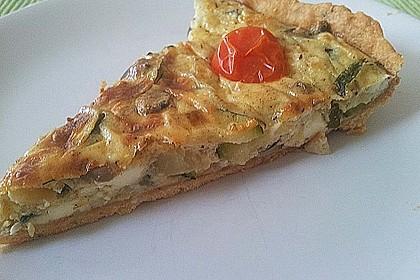 Schafskäse - Zucchini - Quiche 122