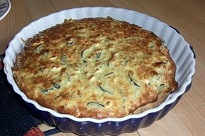 Schafskäse - Zucchini - Quiche 96