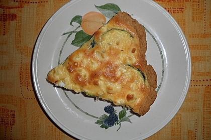 Schafskäse - Zucchini - Quiche 85
