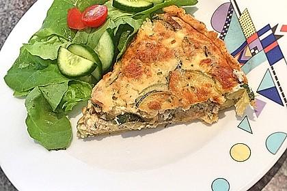 Schafskäse - Zucchini - Quiche 82