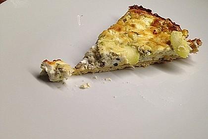 Schafskäse - Zucchini - Quiche 80