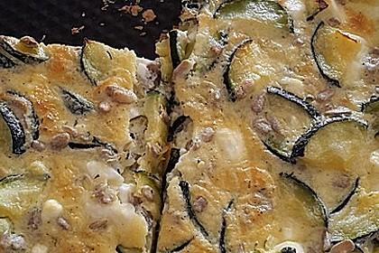 Schafskäse - Zucchini - Quiche 93