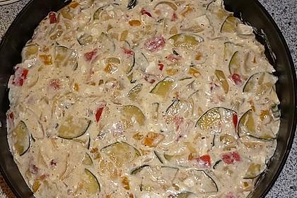 Schafskäse - Zucchini - Quiche 110