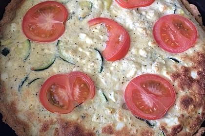 Schafskäse - Zucchini - Quiche 97