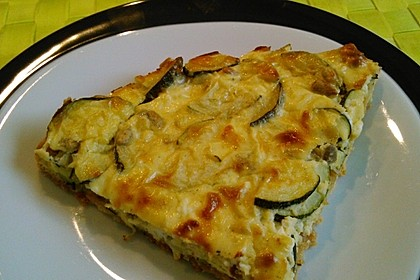 Schafskäse - Zucchini - Quiche 24
