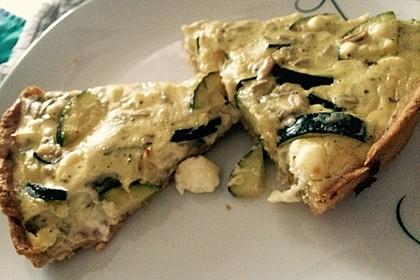 Schafskäse - Zucchini - Quiche 112