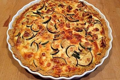 Schafskäse - Zucchini - Quiche 88