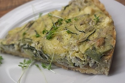 Schafskäse - Zucchini - Quiche 23