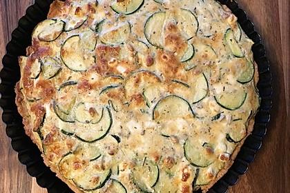 Schafskäse - Zucchini - Quiche 81