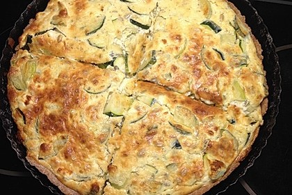 Schafskäse - Zucchini - Quiche 137