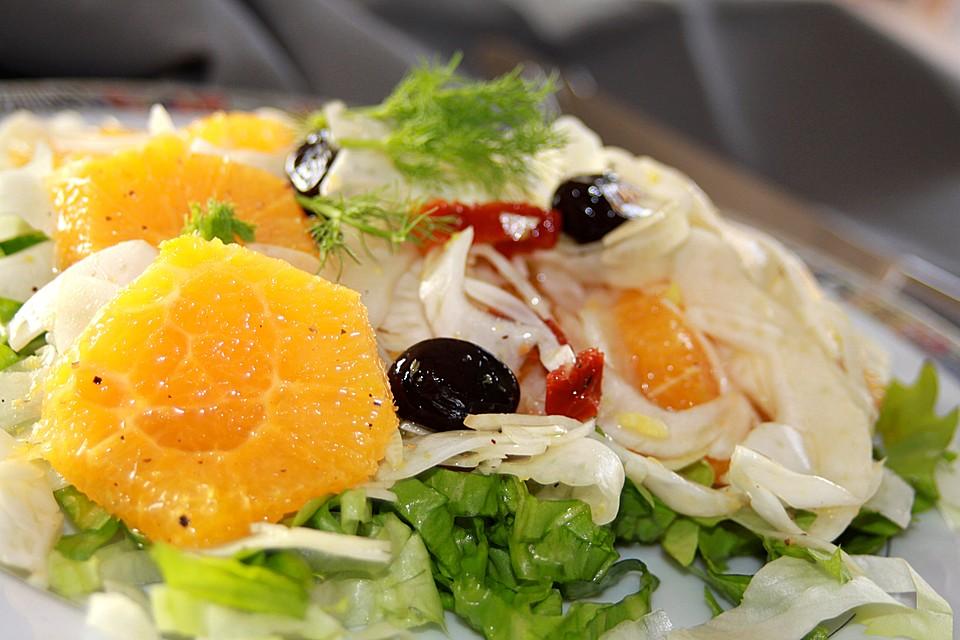 fenchel orangen salat rezept mit bild von pralinchen. Black Bedroom Furniture Sets. Home Design Ideas