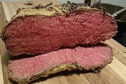 Roastbeef bei 80 °C